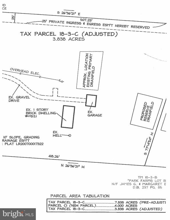 Tax Parcel - 11516 ORANGE PLANK RD, SPOTSYLVANIA
