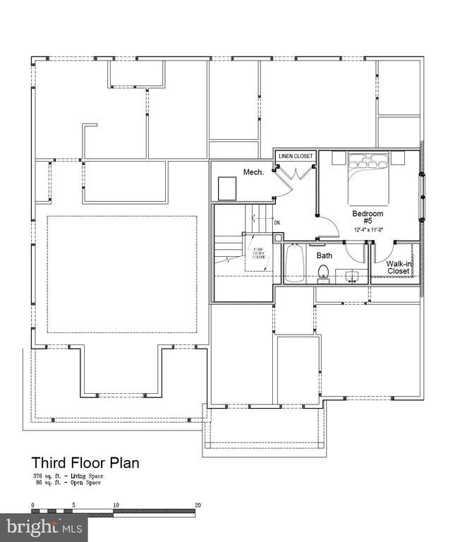 3rd floor. Private en suite bedroom. - 5821 25TH RD N, ARLINGTON