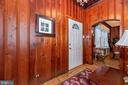inside front door - 15009 SABILLASVILLE RD, THURMONT