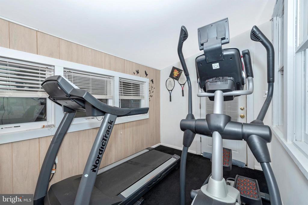exercise room - 15009 SABILLASVILLE RD, THURMONT