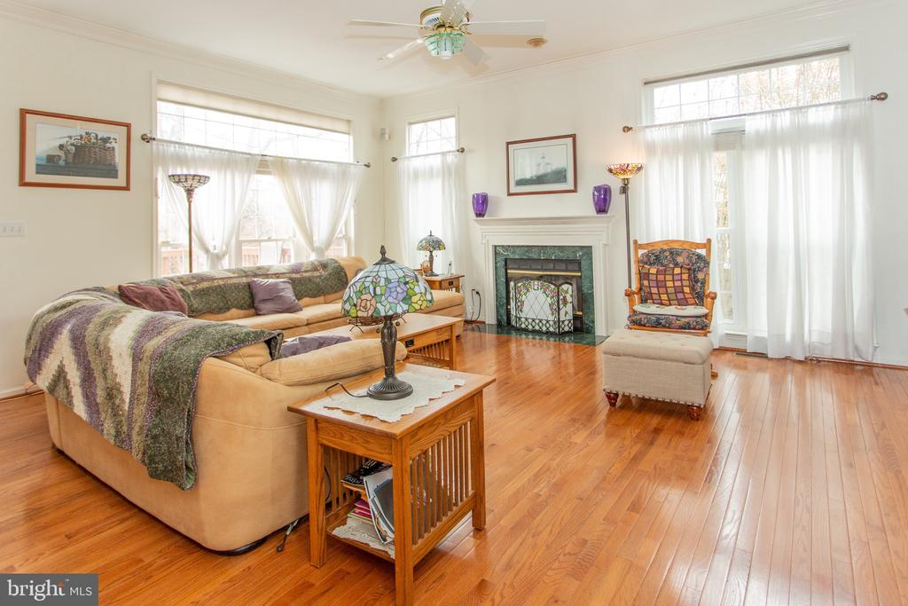 Spacious and bright Family Room - 20687 BROADWATER CT, STERLING