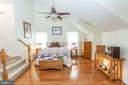 Spacious master suite with sitting room - 20687 BROADWATER CT, STERLING