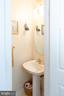 Main level powder room - 20687 BROADWATER CT, STERLING