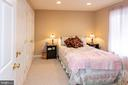 Large bedroom in basement - 20687 BROADWATER CT, STERLING