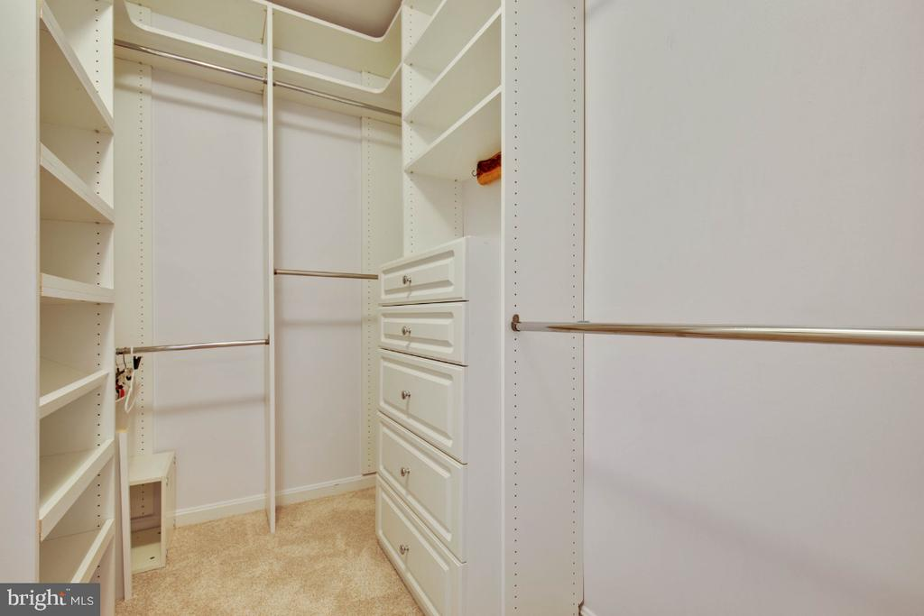 Custom closet with built-ins and storage ! - 395 S PICKETT ST, ALEXANDRIA