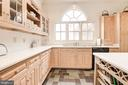 Kitchen with Custom cabinets - 20252 UNISON RD, ROUND HILL