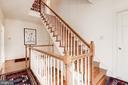 Stairs to third floor - 20252 UNISON RD, ROUND HILL
