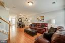 Large family room with lighting - 3842 CLORE PL, WOODBRIDGE