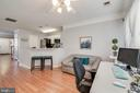 Could be living room, office, or formal dining! - 3842 CLORE PL, WOODBRIDGE