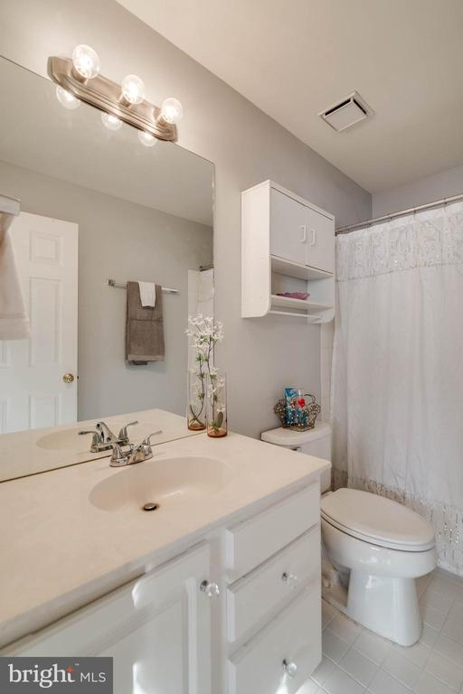 Lovely master bath - 3842 CLORE PL, WOODBRIDGE