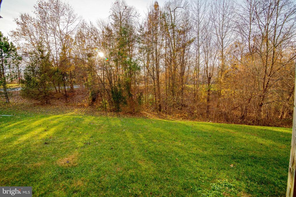 Backs to trees that are full and lush in spring! - 3842 CLORE PL, WOODBRIDGE