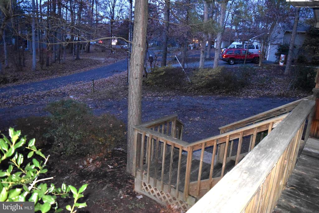 View From Front Deck - 208 MUSKET LN, LOCUST GROVE