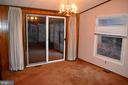 Dining Area towards sun porch - 208 MUSKET LN, LOCUST GROVE