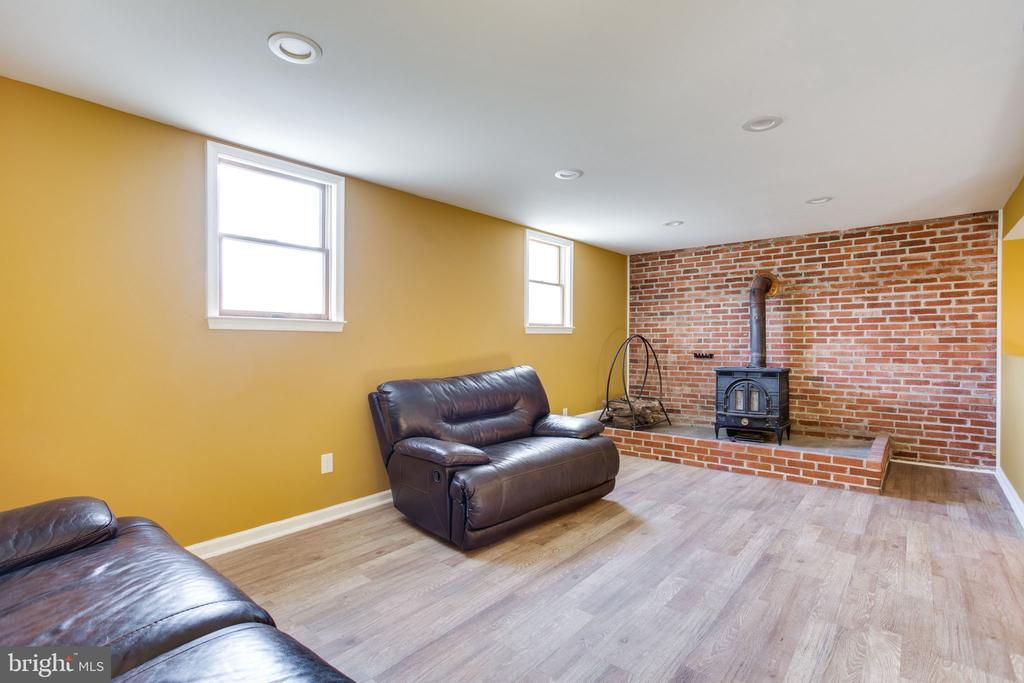 Lower Level Family Room - 11788 ROWE RD, MONROVIA