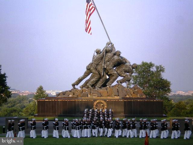 Marine sunset parade at the Iwo Jima - 1600 N OAK ST #1510, ARLINGTON