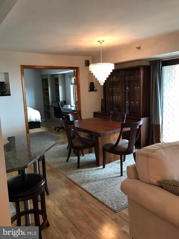 From the living room  toward the dining area * - 1600 N OAK ST #1510, ARLINGTON