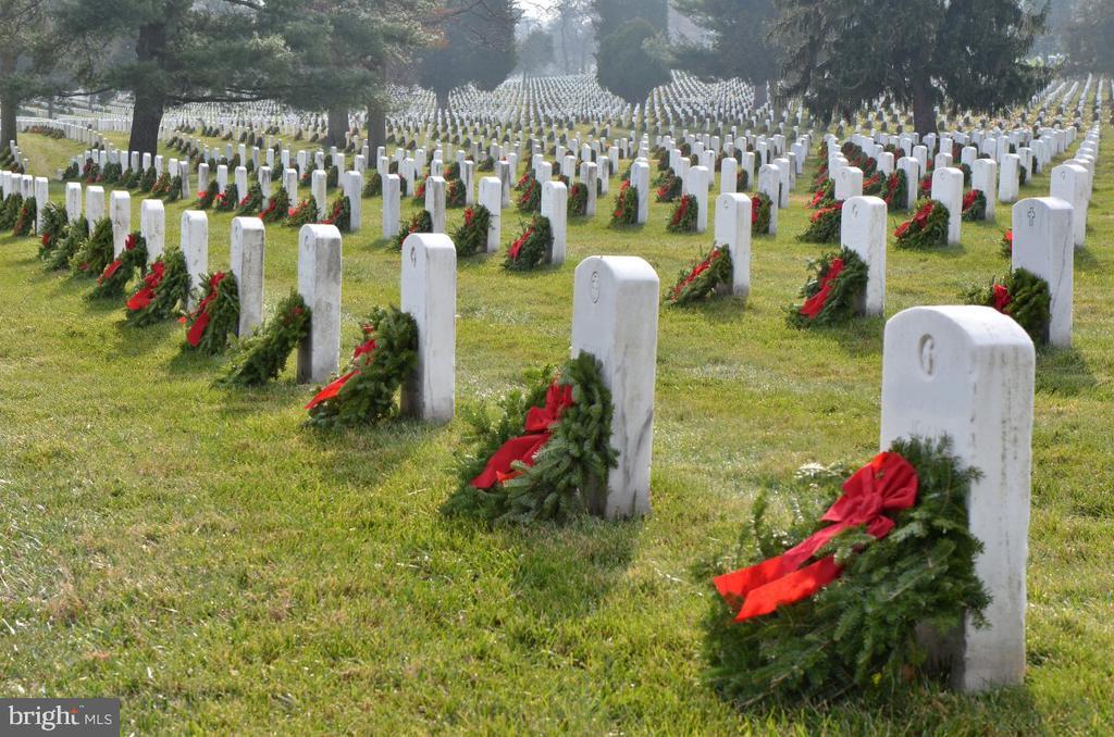 Wreaths at Arlington Cemetery * - 1600 N OAK ST #1510, ARLINGTON