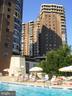 Pool & building - 1600 N OAK ST #1510, ARLINGTON