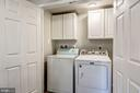 New washer and dryer with above storage - 41217 & 41223 JOHN MOSBY HWY, ALDIE