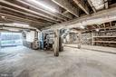 Basement with newly poured concrete floors - 41217 & 41223 JOHN MOSBY HWY, ALDIE