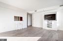 Light-filled living room - 1155 23RD ST NW #8J, WASHINGTON