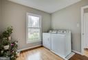 Laundry on main level - 4301 NORBECK RD, ROCKVILLE