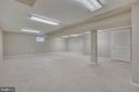 Basement rec room - 4301 NORBECK RD, ROCKVILLE