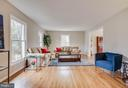 Oversized living room - 4301 NORBECK RD, ROCKVILLE