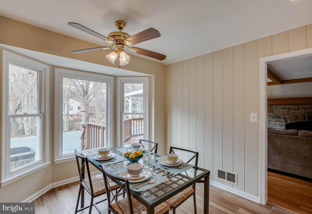 Breakfast area - 4301 NORBECK RD, ROCKVILLE
