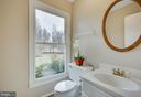 Powder room on main level - 4301 NORBECK RD, ROCKVILLE