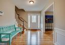 Large inviting entry foyer - 4301 NORBECK RD, ROCKVILLE