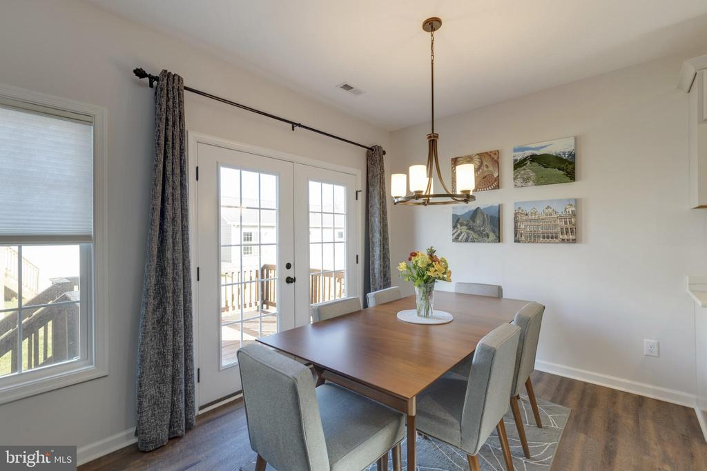 French Doors in Dining Room - 153 VILLAGE CIR, HARPERS FERRY