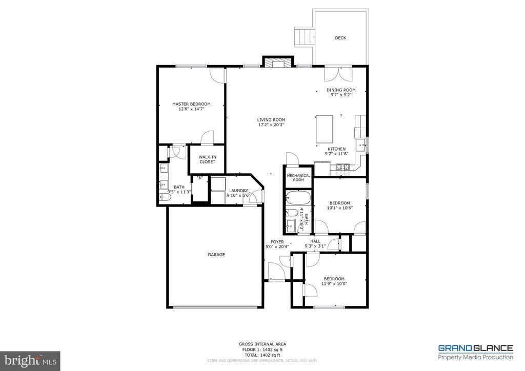 Floor Plan - 153 VILLAGE CIR, HARPERS FERRY