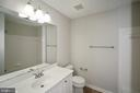 Hall bath - 1568 BEVERLY CT, FREDERICK