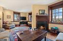 family room with south and western views - 20775 AIRMONT RD, BLUEMONT