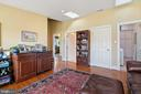 built-in frig, cabinets & skylights - 20775 AIRMONT RD, BLUEMONT