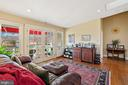 master suite sitting room - 20775 AIRMONT RD, BLUEMONT