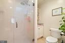 over-sized shower and skylight - 20775 AIRMONT RD, BLUEMONT