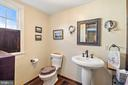 powder room on 1st floor - 20775 AIRMONT RD, BLUEMONT