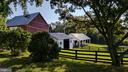 bank barn & other barns - 20775 AIRMONT RD, BLUEMONT