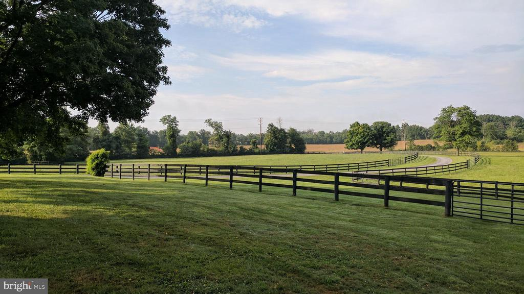 fenced paddocks with water - 20775 AIRMONT RD, BLUEMONT