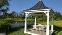 gazebo by the 3 acre stocked pond - 20775 AIRMONT RD, BLUEMONT