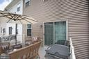 10x16 Deck Off Dining Area, Great for BBQing ! - 4515 POTOMAC HIGHLANDS CIR #133, TRIANGLE