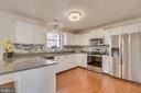 Stunning kitchen with Granite & New appliances - 4229 LAKEVIEW PKWY, LOCUST GROVE