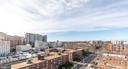 View from community rooftop terrace - 8302 WOODMONT AVE #802, BETHESDA