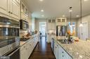 This is truly a baker's kitchen! WOW! - 17101 GULLWING DR, DUMFRIES