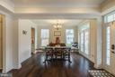 Check out the formal dining room - 17101 GULLWING DR, DUMFRIES