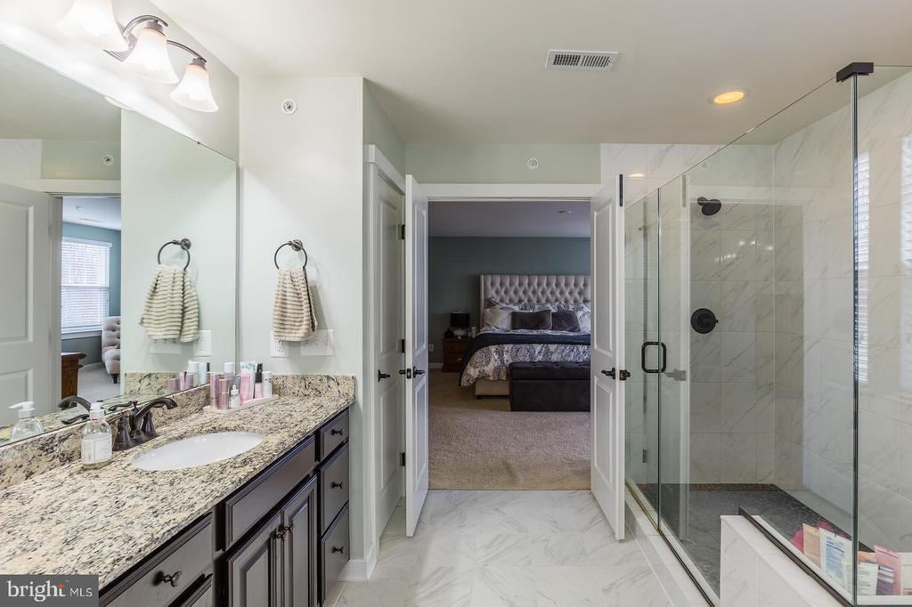 Such a beautiful bathroom - 17101 GULLWING DR, DUMFRIES