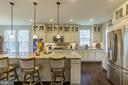 Now this is a social kitchen! - 17101 GULLWING DR, DUMFRIES