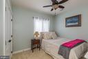 Bedroom #5 is in the lower level - 17101 GULLWING DR, DUMFRIES